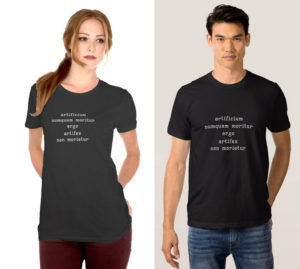 photo of Art never dies… in Latin T-Shirt Light Color